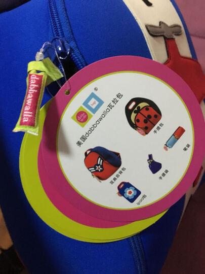 瓦拉包dabbawalla bags幼儿园书包 男女新款儿童双肩背包3-7岁宝宝旅游包美国 飞机 晒单图