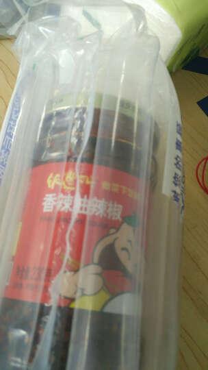 6瓶饭遭殃木耳鲜青椒酱萝卜干辣椒酱榨菜豆鼓调料重庆特产1370克 下饭拌饭拌面 晒单图