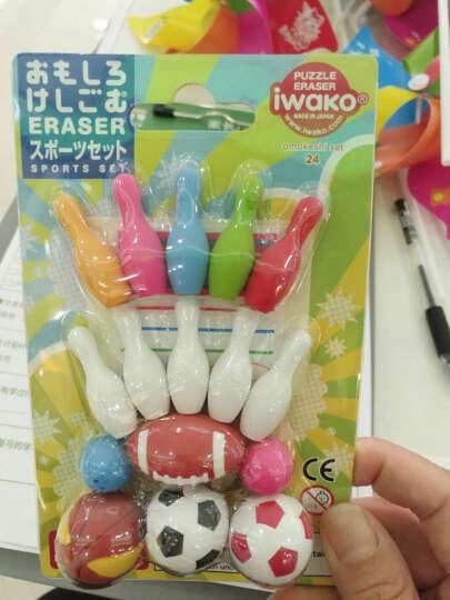 IWAKO 日本进口橡皮擦 儿童卡通可爱趣味橡皮创意文具礼品学生习用品美术涂改可拆装礼物 小驾驶员 晒单图