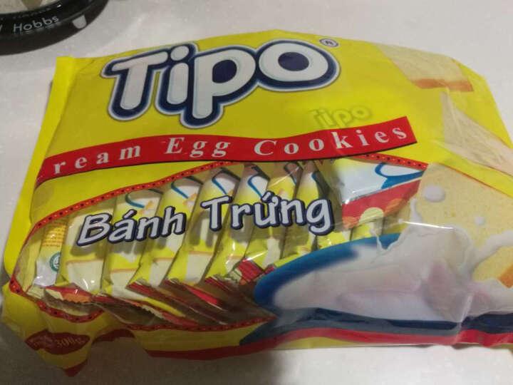 越南进口丰灵TIPO友谊牌 鸡蛋牛奶味面包干300g/袋 内含30小包 休闲零食早餐 共5袋 晒单图