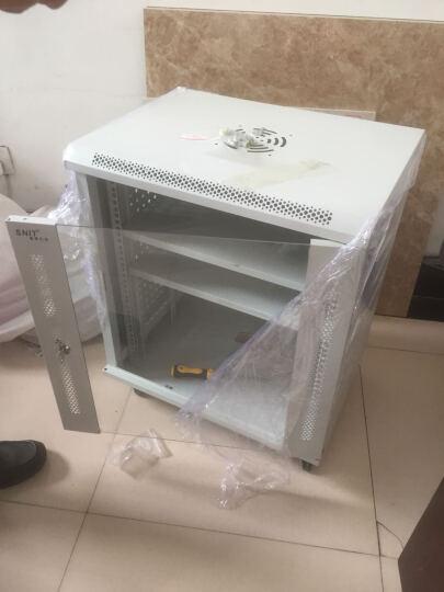 思诺亿舟(SNIT) 服务器机柜网络6U12U 19英寸路由器交换机柜 弱电柜壁挂小机柜 550*400*0.7米(12U) 黑色玻璃门 晒单图