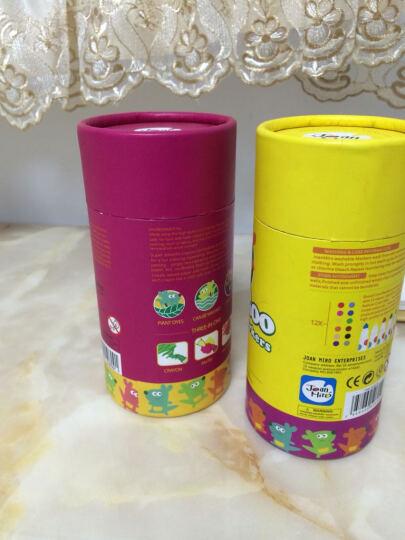 美乐 儿童水彩笔可水洗宝宝画笔油画棒绘画工具幼儿园儿童学习文具 12色彩笔+12色蜡笔 晒单图