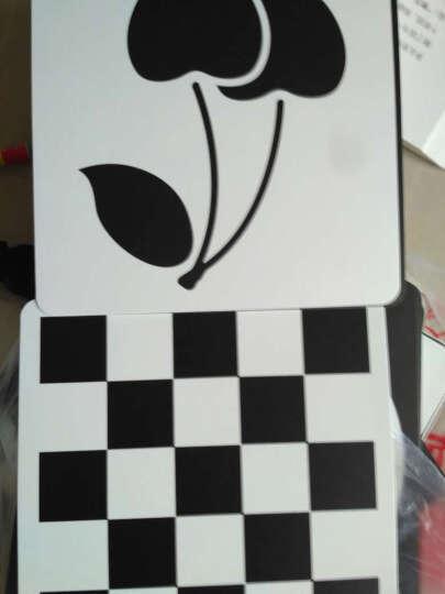 新生儿黑白卡全4盒 认知卡宝宝视觉激发卡片0-3岁婴儿彩色卡启蒙认知闪卡 婴幼儿早教书籍 晒单图