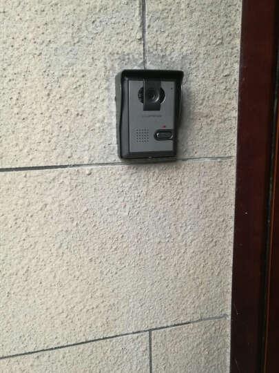 酷丰(KUFENG)家用智能可视门铃7英寸别墅高清彩色门铃电话有线可视楼宇开锁对讲监控门铃702KA 702KA 高清款 二拖一 晒单图