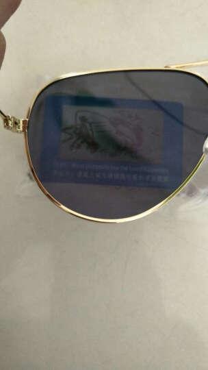 雷德蒙日夜两用变色偏光太阳镜男司机夜间驾驶眼镜女夜视镜开车专用眼睛防远光灯飞行员墨镜蛤蟆镜 金色框 橙色偏光片(送夜视镜)(再送墨镜) 晒单图