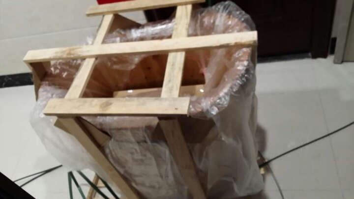 尚田 木桶浴桶成人椭圆形沐浴桶小型泡澡桶实木浴缸STB-033鸭蛋桶木制洗澡泡浴桶 晒单图