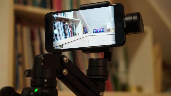 大疆(DJI) 大疆无人机 灵眸OSMO+  一体式手持云台相机变焦稳定器 4k 配件包 车载支架 晒单图