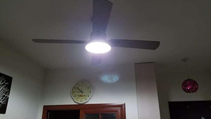 耀林LED灯 吸顶灯光源改造板圆形透镜节能灯传统环形节能光源替换板灯具 24瓦 无极调光 直径180毫米 晒单图