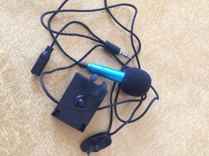 纽曼 手机唱吧麦克风 电脑K歌电容麦克风迷你 随身小话筒 时尚蓝 晒单图
