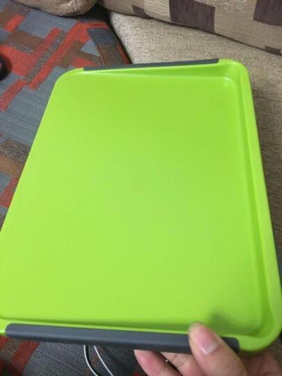 魔乐双面环保切菜板水果扳砧板塑料切果盘日本创意切菜板婴儿辅食板纳米砧板 24x33x3cm 晒单图