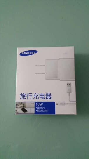 三星(SAMSUNG)充电器原装正品 安卓手机USB数据线2A旅行充电线头通用三星华为小米 通用款5.0V2.0A充电头+1米线套装 晒单图