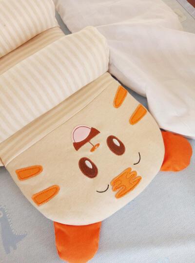 优婴爱(Yuueaii) 婴儿枕头0 1岁新生儿防偏头定型枕儿童宝宝睡枕 小老虎55*25CM 脱挡枕0-6岁(加挡枕0-1岁) 晒单图