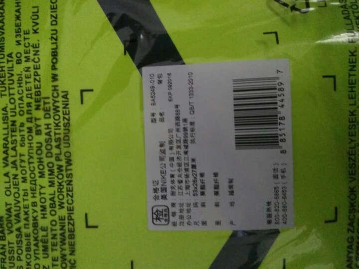 耐克(NIKE)运动包  桶包  旅行包 健身包 单肩包 BA4881 BA5335 BA5553 55cm乔丹大桶包黑5408-010 晒单图