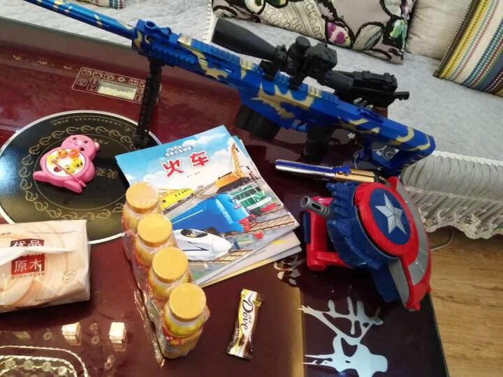 美国队长盾牌 电动声光枪连发儿童玩具枪 标准版+30000发水晶弹 晒单图