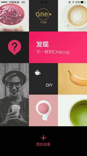 Onecup 胶囊咖啡机/全自动智能手冲咖啡机KD12-K6(兼容豆浆/奶茶/咖啡) 胶囊咖啡机K6 晒单图