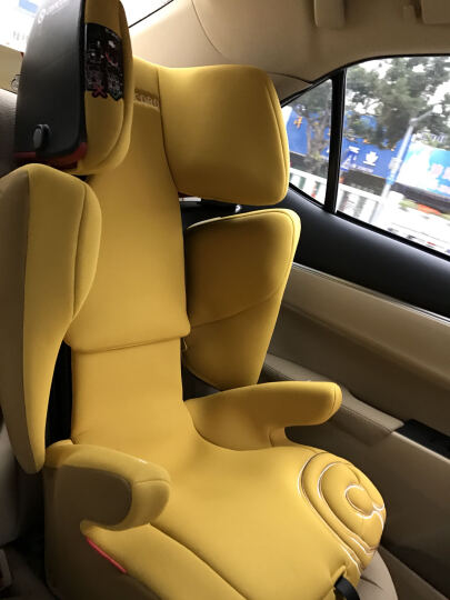 Concord 德国安全座椅XBAG 康科德儿童宝宝汽车用3-12岁车载ISOFIX接口 火焰红-现货 晒单图