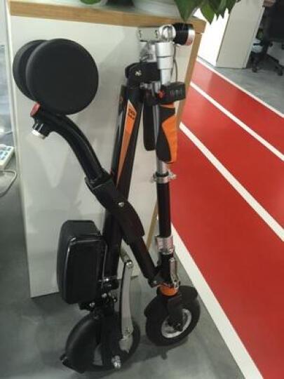 Airwheel 爱尔威E6电动车 电动自行车滑板车折叠代步电瓶车成人电动摩托车 男女通用 白色 晒单图