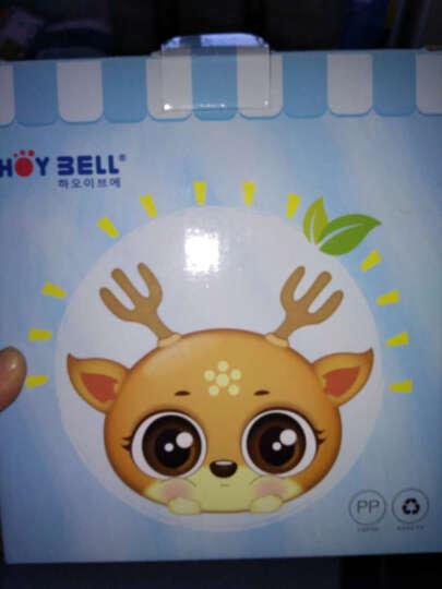 好伊贝(HOY BELL) 婴儿辅食盒零食盒宝宝奶粉盒便携保鲜冷藏盒密封盒收纳盒 4个装+双装硅胶勺送辅食盒 晒单图