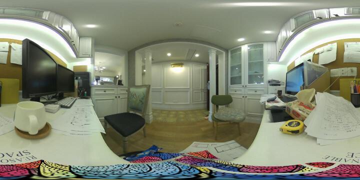 Insta360 4k beta 高清VR全景相机 360度全景数码摄像机 虚拟现实黑科技 晒单图