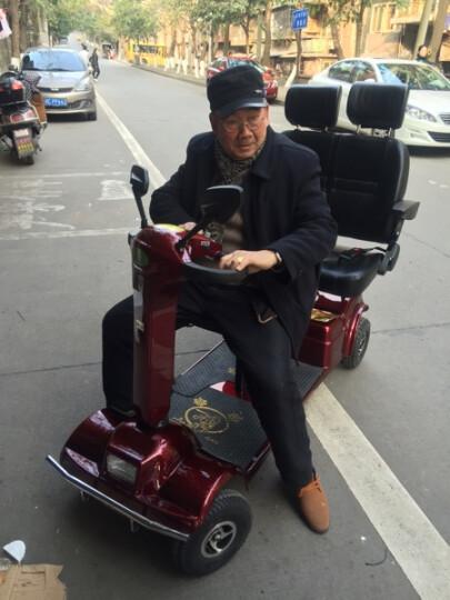 QIANGJINLI (强劲力)P412双座老年电动车代步车老人车残疾车老年车四轮车观光车 P412三座自动刹车+品牌电瓶48V 30AH 晒单图
