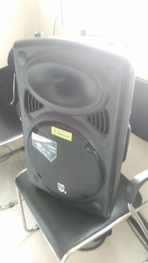 双诺 声美 SN-608 12英寸移动拉杆音箱 户外广场舞音响 便携式大功率蓝牙插卡扩音器音箱 拉杆单麦 晒单图