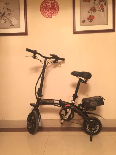 酷车e族  折叠电动车自行车 代驾电动车 Z1代驾宝【白色】 晒单图