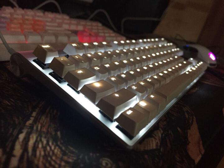 樱桃(CHERRY)MX-Board 8.0 G80-3880HUAEU-0 背光游戏机械键盘 白色黑轴 绝地求生 吃鸡键盘 晒单图
