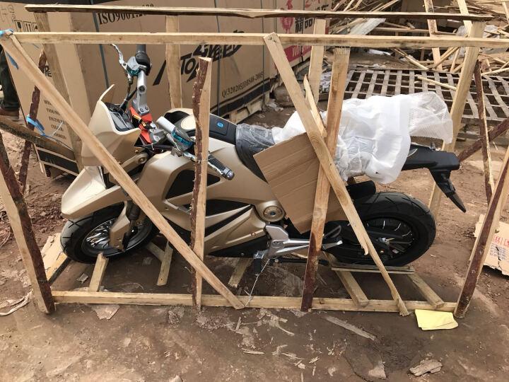酷科奇 大公仔M3小猴子电动车摩托车电瓶车自行车72V96V电动摩托车街车男女越野电摩跑车 其他颜色 2000w电机+72V 32A 六个电池 晒单图