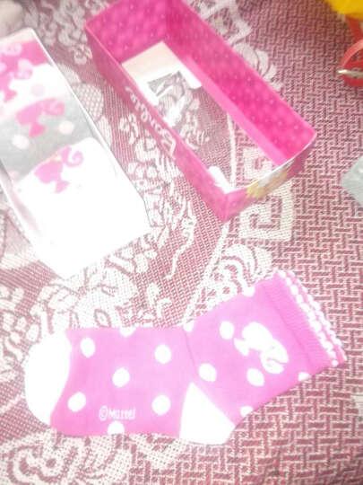 芭比 Barbie 袜子 女童精梳棉袜6双组 87930 女童 14-16cm/适合1-2岁 晒单图