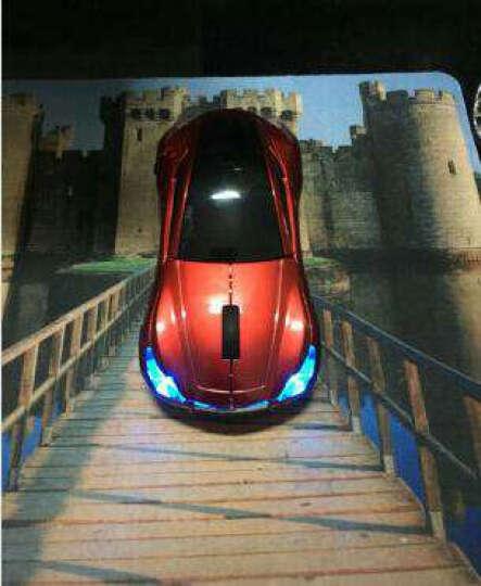 集物一册 创意无线鼠标英菲尼迪跑车光电鼠标 创意汽车无线鼠标实用礼品生日礼物 绿色 晒单图