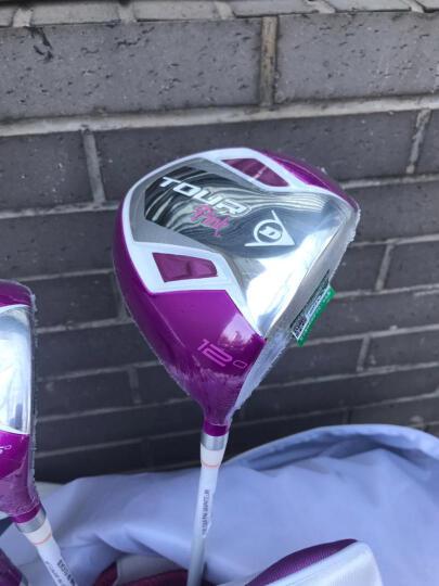 【初学钛合金】登路普(DUNLOP)高尔夫球杆女士套杆 初中级钛合金碳素全套新款 新款配白绿色球包 晒单图