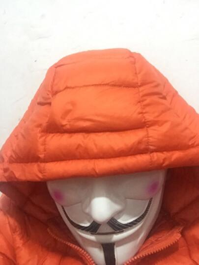 爱新奇(aixinqi) 儿童节半脸全脸面具男V字面具化妆舞会装饰道具队假面具 薄款米色+手套 晒单图