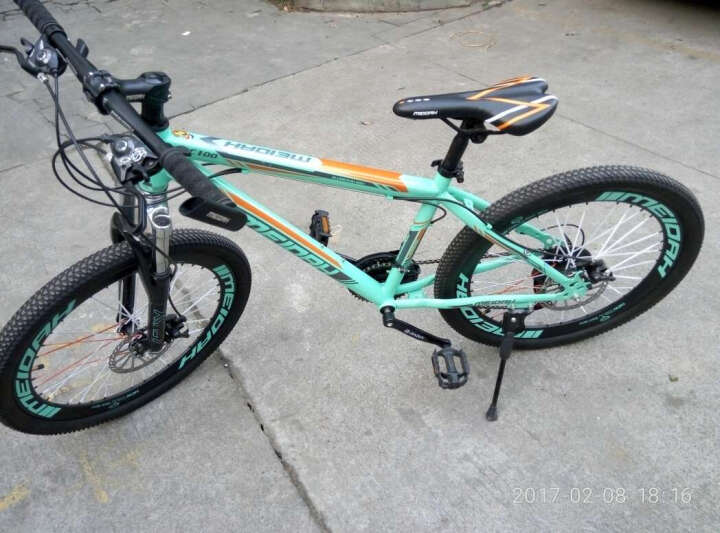 自行车锁 山地车 防盗锁电动车锁具钢丝锁 装备摩托车锁 单车配件 多省包邮 白色 晒单图