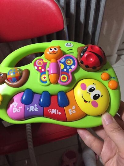 汇乐敲琴 儿童音乐玩具 敲鼓铃铛带乐谱 学习琴八音琴玩具 手指启蒙学习琴927 晒单图
