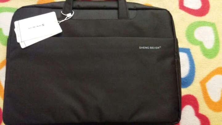 15.6英寸联想R720内胆包手提单肩包拯救者Y7000笔记本电脑保护包男女休闲商务袋 笔记本配件 爆款黑色(851款) 小新潮7000(14英寸) 晒单图