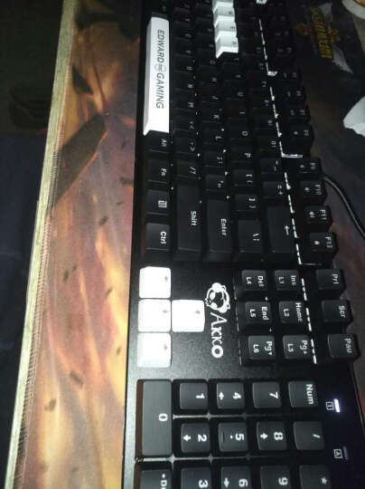 EDG旗舰店 AKS104机械键盘  Akko经典黑背光青轴黑轴lol游戏键盘 经典黑国产黑轴 晒单图