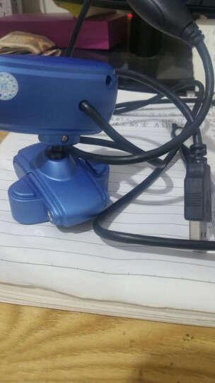 现代(HYUNDAI)摄像头电脑台式机免驱网络高清内置麦克风 HYC-S200 蓝色 晒单图