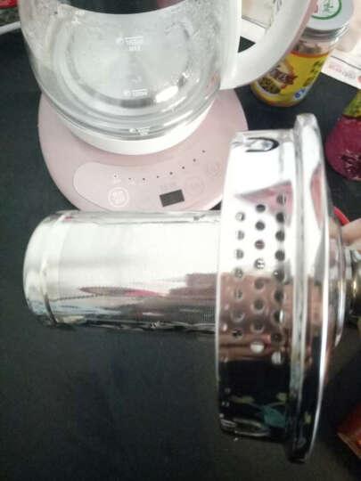 容威 养生壶全自动烧水壶玻璃电热茶壶煎药壶花茶壶多功能煮茶壶1.8L 玫瑰粉(带滤网) 晒单图