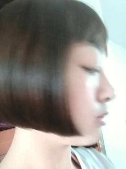 佰美坊 假发女短发bobo波波头 假发套韩国空气刘海短直发 中长发帅气 奶茶浅棕色 常规刘海 晒单图