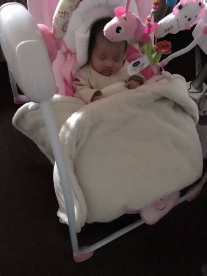 ppimi Primi多功能婴儿摇椅 摇蓝秋千宝宝电动音乐儿童躺椅安抚椅 多款可选 高景观版棕色 晒单图