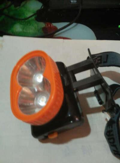 智能感应头灯  USB充电三档/伸缩变焦 LED探照灯钓鱼灯夜钓灯充电远射手提灯 头灯强光远射白光 黑色(充电头自备) 晒单图