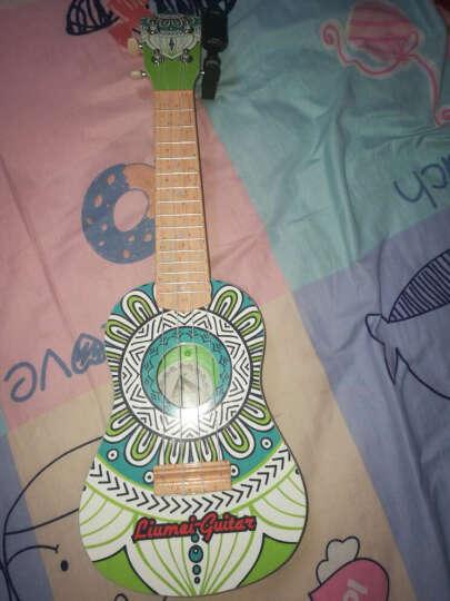 六美 儿童吉他乐器玩具21寸尤克里里可弹吉它益智玩具 古典印花 晒单图