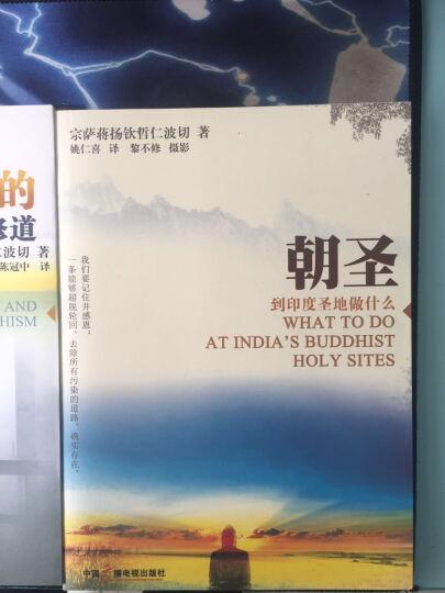 正见 佛陀的证悟+人间是剧场+佛教的见地与修道+朝圣 四册套装 宗萨蒋扬钦哲仁波切 晒单图