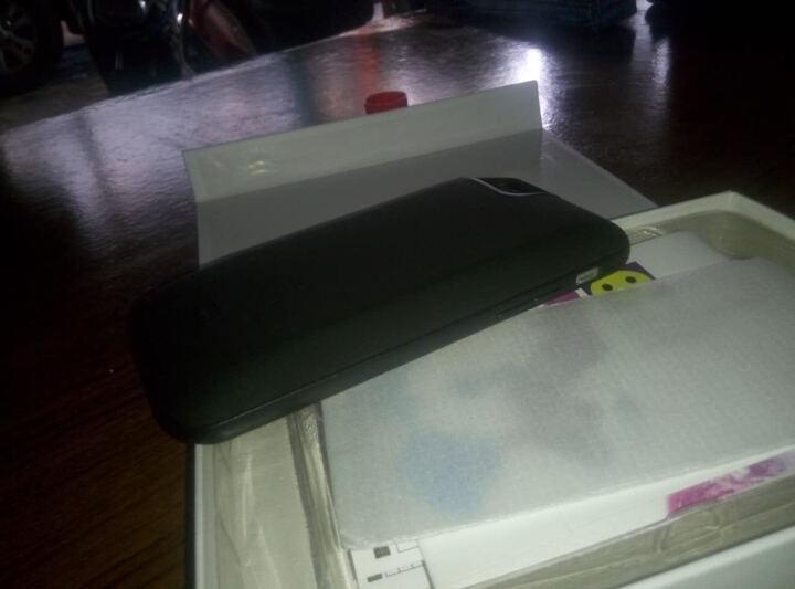唐为(TANGWEI) Apple iPhone背夹充电宝背夹电池苹果6/7/7P/8P 5.5磨砂黑(苹果8P/7P适用)3800mAh 晒单图