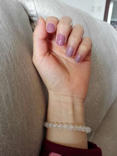 Sweet Color 微光疗 CP-A25 珍珠银白色12ml (法国原料 快干持久 美甲油胶 金属裸色) 晒单图