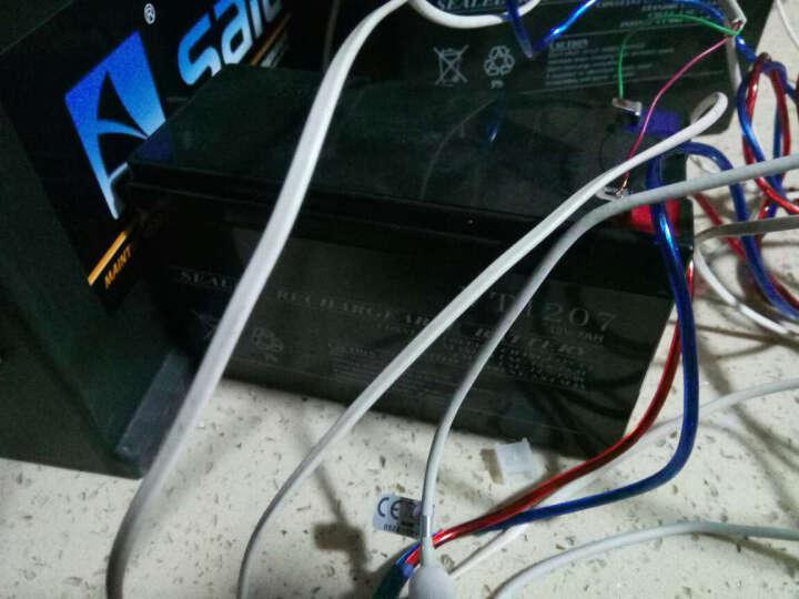 蓄电池电瓶 7ah 12v 太阳能系统专用 免维护铅酸电池 摆地摊照明 晒单图