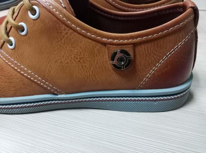 雷诺吉普网鞋男鞋休闲鞋男夏新款豆豆鞋透气板鞋情侣休闲运动鞋子男 612男款蓝色 运动鞋码 42 晒单图