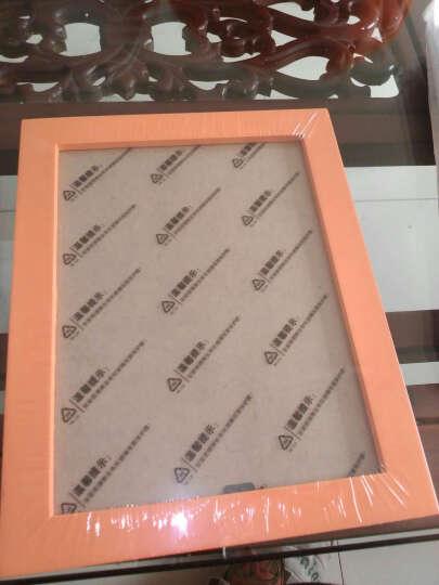天字一号(TIAN ZHI YI HAO) 实木相框架7寸6寸A4照片墙创意相框画框像框 黑色 7寸挂式  横竖可挂 晒单图