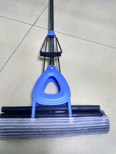 怡诺(yinuo) 免手洗滚轮式胶棉拖把 吸水海绵拖把伸缩杆平板地拖 晒单图