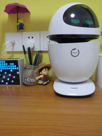 狗尾草公子小白8核版智能机器人儿童早教学习机电动玩具 语音对话互动教育遥控机器人智能玩具 2代8核版-科技银 晒单图